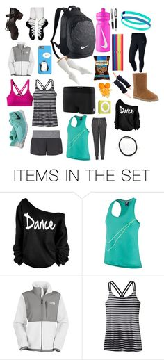 """What's in my dance bag"" by dancing-gabs ❤ liked on Polyvore featuring art"