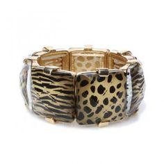 Leopard Pattered Bangle