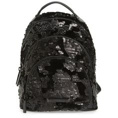 991749a5ad36 Women s Kendall + Kylie Mini Sloane Velvet   Sequin Backpack (€145) ❤ liked  on Polyvore featuring bags