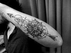 Resultado de imagem para arrow tattoo arm