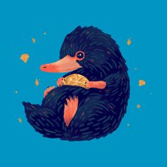 Shop NIffler harry potter posters and art prints designed by nanlawson as well as other harry potter merchandise at TeePublic. Harry Potter Poster, Harry Potter Merchandise, Harry Potter Universal, Harry Potter World, Fantastic Beasts And Where, Animes Wallpapers, Framed Art Prints, Hogwarts, Images