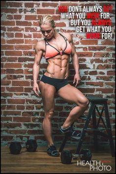 Amazing physique!