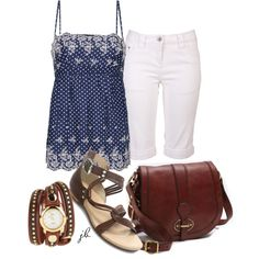 Casual Weekend, created by jliz516 on Polyvore