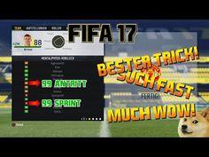 http://www.fifa-planet.com/fifa-17-gameplay/fifa-17-99-geschwindigkeit-antritt-trickglitch-fifa-17-gameplay-deutsch/ - FIFA 17 - 99 GESCHWINDIGKEIT & ANTRITT TRICK/GLITCH - FIFA 17 GAMEPLAY DEUTSCH  FIFA 17 Tipps und Tricks, oder Glitch? 99 Geschwindigkeit UND 99 Antritt mit JEDEM Spieler auf dem Feld benutzen. Dazu braucht man nur drei Dinge: Ballrolle, Körpertäuschung, Sprint! Wie das genau funktioniert? Schauts euch im Video an! Teilt das Video mit euren Freunden, aber