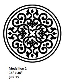 Medallions (1-20) - Concrete Stencils Store