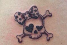 Little skull tattoo