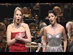 If you watch only one opera aria in your life, make it this one. Flower duet - Anna Netrebko & Elina Garanca (Lakmé de Delibes)