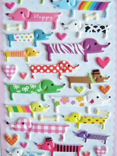 Cute Stickers Dogs by CommeLesLoups on Etsy, $1.75