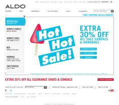 Homepage.    Website 'http://www.aldoshoes.com/us' snapped on Snapito!