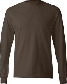 Adult Hanes 6.1 oz ComfortSoft Long Sleeve T-Shirt