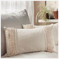 Relleno, Bed Pillows, Pillow Cases, Home, Appliques, Beds, Manualidades, Boho Pillows, Pillows