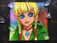 Here you can see Linkle from The Legend Of Zelda - Hyrule Warriors Zelda Hyrule Warriors, Art Sketchbook, Legend Of Zelda, Fanart, Princess Zelda, Fictional Characters, The Legend Of Zelda, Fan Art, Gcse Art Sketchbook