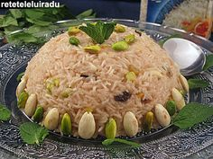 Saffron, dried fruits and nuts rice
