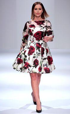 Candace Cameron Bure's Daughter Natasha Bure Makes Her Runway Debut at New York Fashion Week   E! News