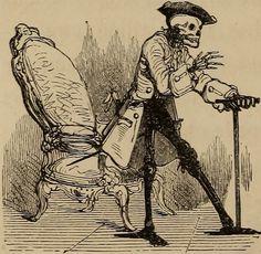Le Diable Amoureux, Roman Fantastique by Jacques Cazotte, 1845.. Abecedarian : Restoring the Lost Sense
