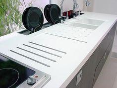 Granito, Quartzo, Corian... Qual escolher para a bancada da cozinha? - feeling.   Transforme sua casa no ambiente ideal para você e sua família!