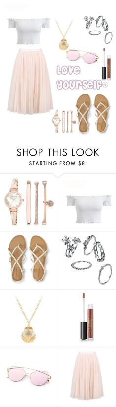"""""""Love Yourself"""" by adriana4-life on Polyvore featuring Anne Klein and Lipstick Queen"""