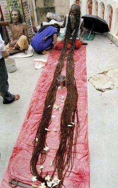 long ass dreads