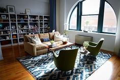 """6 Home Decor Rules To Break Now #refinery29  http://www.refinery29.com/2013/11/57845/decor-color-combinations#slide-1  Rule 1: Blue & Green Should Never Be Seen   """"Blue and green can work beautifully together if chosen wisely,"""" says Homepolish Designer Orlando Soria. """"To do this, you're going to need to test them out next to each other. Usually, a saturated green (not too acidic or muted) and a true blue (not skewing toward purple or periwinkle) look great together — just be careful to....."""