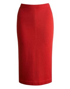 Women's Pencil Skirt, Red. Perfect for the holidays.
