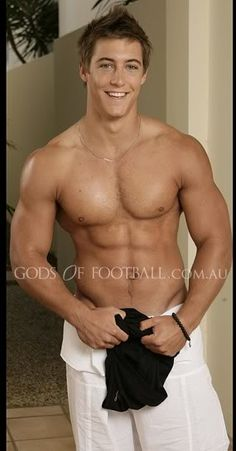 Kayne Lawton Australian rugby player- good lord almighty