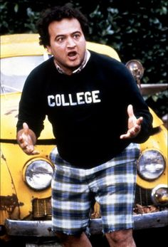 Jim Belushi as Bluto from frat classic, Animal House John Belushi Animal House, National Lampoon's Animal House, Southern Nights, Toga Party, The Blues Brothers, National Lampoons, Saturday Night Live, Comedians, Movie Tv