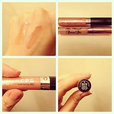 NYC Lip Gloss in Nude York City is a dupe for Too Faced Glamour Gloss in the shade Pillow Talk. They are the same shade of pink & have the same shimmer in them. The NYC one is only $2.49 & the Too Faced one is $19!