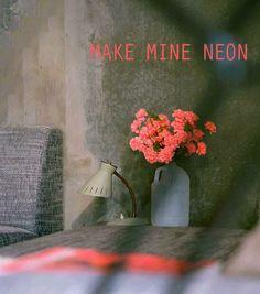 Make Mine Neon :: Kika Reichert   inspirations