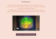 use the holograph to heal Manners, Holographic, Healing, Life