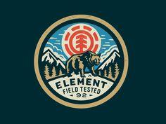 Element Bear by Curtis Jinkins #Design Popular #Dribbble #shots