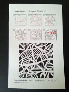 Judy's Zentangle Creations: A great site with tons of Zentangle Patterns