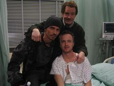 Bryan Cranston, Charles Baker, and Aaron Paul Breaking Bad Jesse, Breaking Bad Cast, Breaking Bad Series, He Who Dares Wins, Beaking Bad, Jesse Pinkman, Aaron Paul, When I See You, Walter White