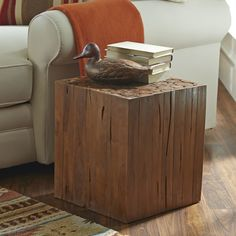Birch Lane Groton Teak Side Table