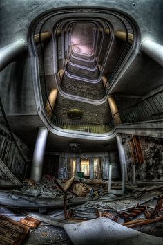 Lost | Forgotten | Abandoned | Displaced | Decayed | Neglected | Discarded | Disrepair |  by Matthias Haker