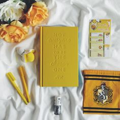 Image about aesthetic in aes/ hufflepuff by ShadowsOfDarkness Harry Potter Houses, Hogwarts Houses, Flower Yellow, Yellow Roses, White Roses, My Favorite Color, My Favorite Things, Connie Springer, Pink Lila