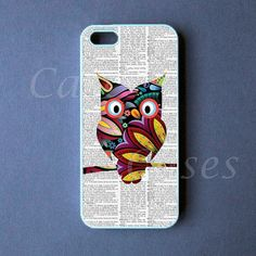 Iphone 5 Case - Colorful Owl