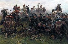 17º Regt. Royal Netherlanders at Quatre Bras 1815.