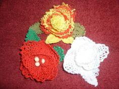 Os meus encaixes - Flores de encaixe