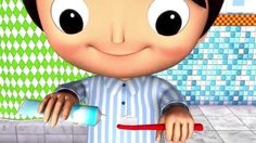 Así es como se lavan los dientes | LittleBabyBum canciones infantiles HD 3D