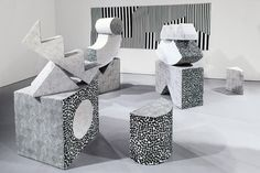'Soft Sculptures* by Kristine Mandsberg.
