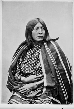 Wife of He Goat – Comanche – 1872