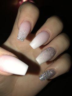 B🥀 Nails - acrylic nails - coffin nails - natural nails - Source short nails - christmas nails - mat Aycrlic Nails, Pink Nails, Cute Nails, Coffin Nails, Pink Coffin, Fall Nails, Orange Nails, Gel Manicure, Summer Acrylic Nails