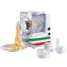 Maquina hacer pasta fresca Domoclip DOP101 - Máquina para hacer pasta fresca Domoclip de 180 w de potencia. Con esta máquina podrás elaborar 10 formas de pasta diferentes de  forma cómoda. Basta con verter los ingredientes necesarios en la cubeta y la máquina se encargará de mezclar y amasar. Dependiendo del disco que hayamos seleccionado podrás obtener: espaguetis, rigatoni, tallarines, liguine, fettucine, oriental, capellini, lasaña, tortellini, cookie.  Cuba de amasado transparente con…