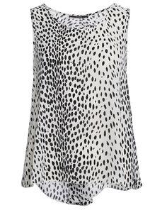 Shirt mit Punkte-Muster - schwarz/weiß von Guess bei Paparazzi by ninok jetzt kaufen | kleidoo