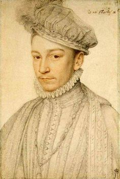 Charles IX, François Clouet (1510 – 1572, French)