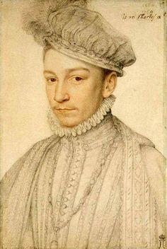 Charles IX,   François Clouet (1510 – 1572, French)