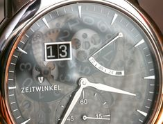 Zeitwinkel Saphir Fumé Watch Hands-On Trends, Clock, Watches, Specs, Amp, Photos, Sapphire, Clocks, Watch