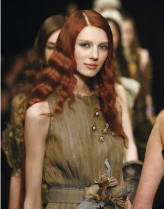 redheads look gorgeous in green