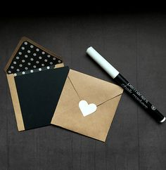 12 Blank Chalkboard note cards. Small 3 inch by GingersnapPress