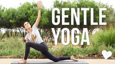 Join Adriene for this Gentle Yoga Practice. Mindful yoga. Energetic hygiene! Practice self care, self love and take some time for you. Connect to your breath...